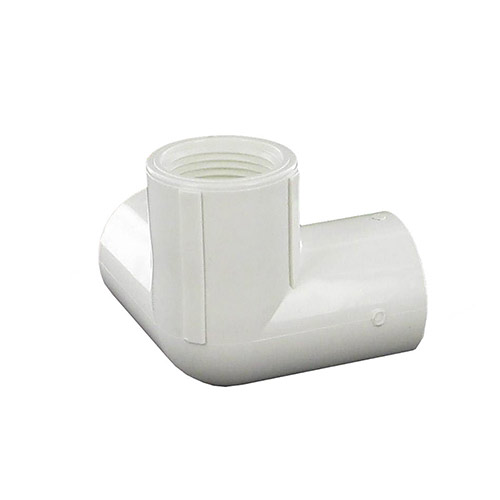 Dura 414-007 - 3/4 inch slip x 3/4 inch slip x 3/4 inch fpt PVC Side Outlet 90 Degree Elbow