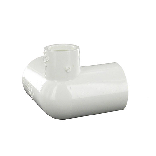 Spears 414-130 - 1 inch slip x 1 inch slip x 1/2 inch fpt PVC Side Outlet 90 Degree Elbow