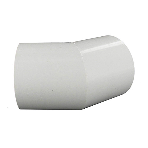 Spears 417-020 - 2 inch slip 45 Degree PVC Elbow