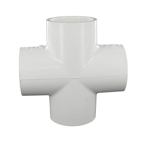 Spears-015 - 1-1/2 inch slip PVC Cross