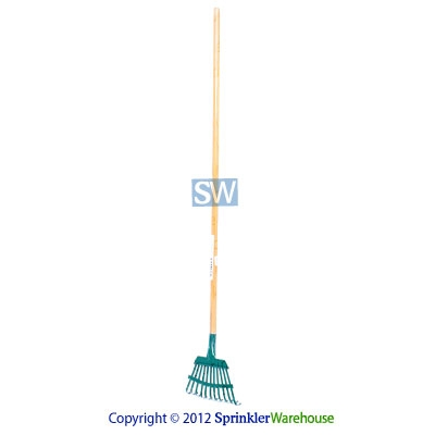 Midwest Rake 43101 7 in. Rake with 48 in. Wood Handle