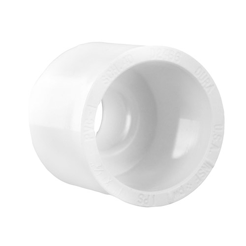 Dura 435-130 - PVC Female Adapter 1 inch slip x 1/2 inch fpt