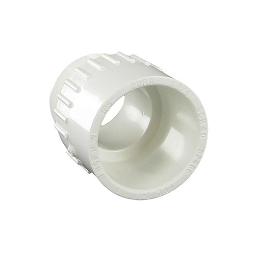 Spears 436-012 - 1-1/4 inch slip x 1-1/4 inch mpt PVC Male Adapter