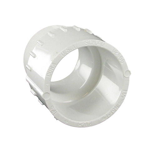 Spears 436-015 - 1-1/2 inch slip x 1-1/2 inch mpt PVC Male Adapter