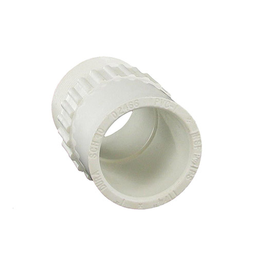 Dura 436-168 - 1 inch slip x 1-1/4 inch mpt PVC Male Adapter