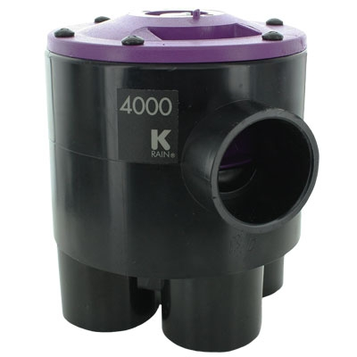 K-Rain 4402-RCW 4 Outlet 2 Zone Valve for Reclaim Water