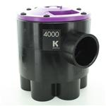 K-Rain 4602-RCW 6 Outlet 2 Zone Valve for Reclaim Water