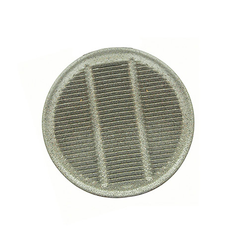 Dekorra 711-CP NEW Louvered Round Air Vent (3 in.)