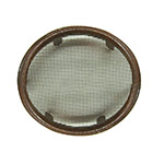 Dekorra 712-CP NEW Screened Round Air Vent (4 in.)