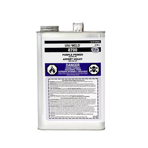 Oatey 8736S  1 Gallon NSF Listed Purple Primer