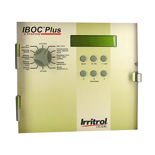 Replacement Irritrol front panel assembly, IBOC8 plus