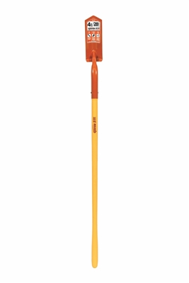 Midwest Rake 89244 48 in. Polymer Handle Trenching Shovel 4 in. Blade