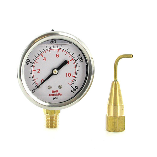 Underhill A-HCGPK - HeadChecker Nozzle Discharge Pressure Gauge