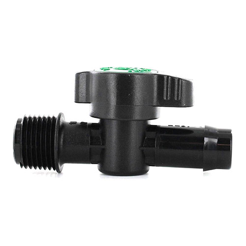 Antelco A49035 16 mm Barb x 1/2 in. MPT Drip Tubing Valve