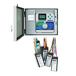 HUNTER ACC-99D 2-Wire decoder controller with 99 station capacity, stainless wall mount