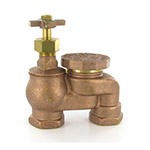 "AS-100- Aqualine - 1"" ant-siphon valve & cross handle"