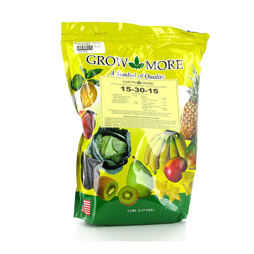 Grow More All-Purpose-5 - 15-30-15 Fertilizer Mix (5 lbs)