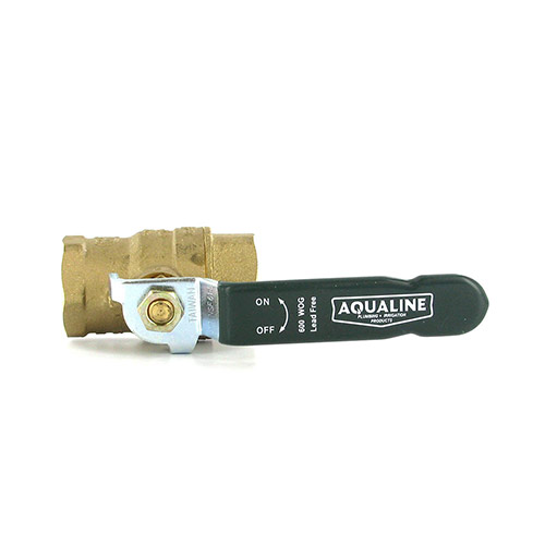 Aqualine BBV-075LF Lead-Free Brass Ball Valve (3/4 in.)
