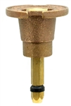 Aqualine BLRQ12 Brass Quarter-Cir. Low-Rise Gravity Spray Head