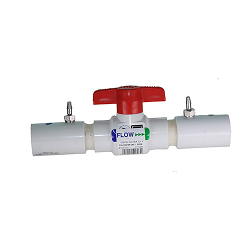 EZ Flo CBV-075 - 3/4 inch Ball Valve Coupling with Slip Ends