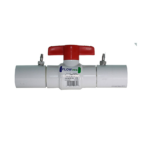 EZ Flo CBV-100 - 1 inch Ball Valve Coupling with Slip Ends