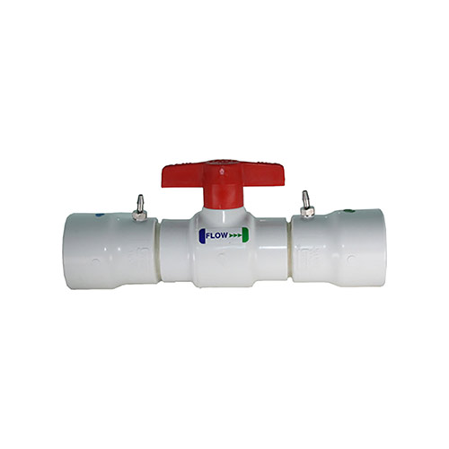 EZ Flo CBV-150 - 1-1/2 inch Ball Valve Coupling with Slip Ends