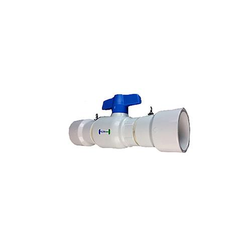EZ Flo CBV-400 - 4 inch Ball Valve Coupling with Slip Ends