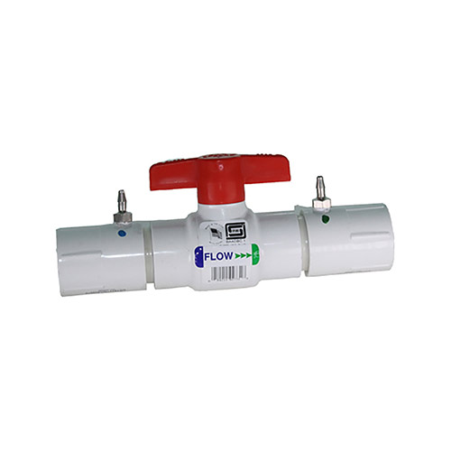 EZ Flo CBVT-075 3/4 inch Ball Valve Coupling with Threaded Ends