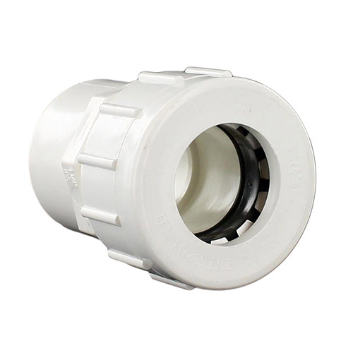 King Brothers CCL-1250-S 1-1/4 in. Compression Lock Adapter (CTSxIPS)