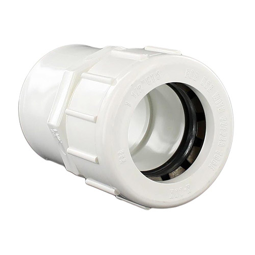 King Brothers CCL-1500-S 1-1/2 in. x 1-1/2 in. Compression Lock Adapter