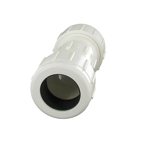 CPC-1250 - 1-1/4 inch PVC Compression Coupling (IPS Comp. x IPS Comp)