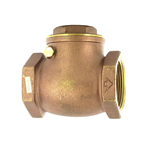 Aqualine CV-150 Swing Brass Check Valve (1-1/2 in.)
