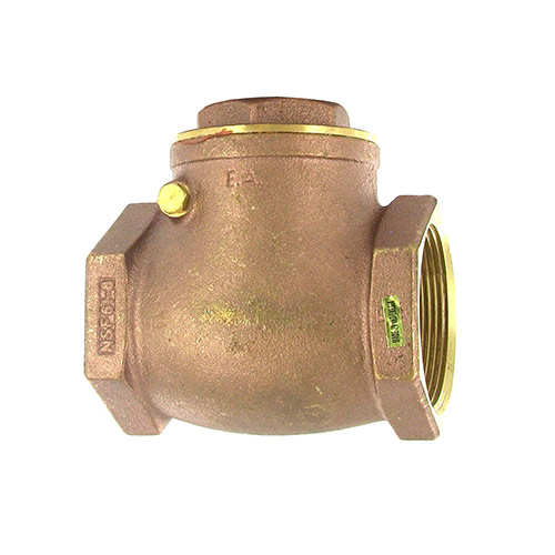Aqualine CV-200 Swing Brass Check Valve (2 in.)