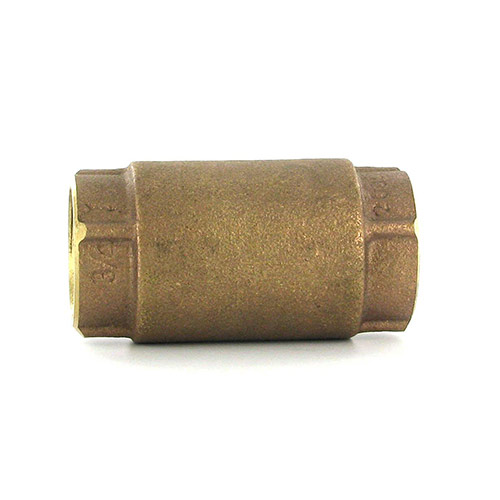 Aqualine CVI-075 In-Line Brass Check Valve (3/4 in.)