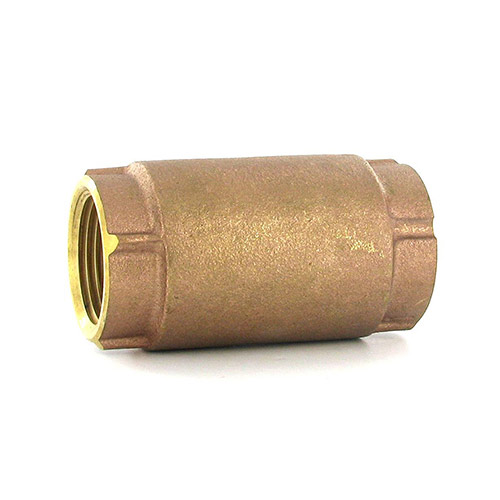 Aqualine CVI-100 In-Line Brass Check Valve (1 in.)