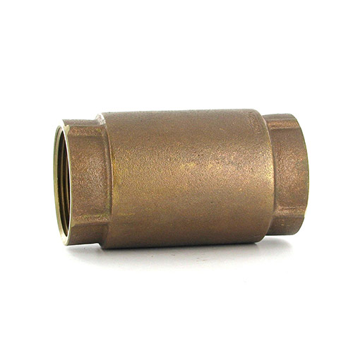 Aqualine CVI-150 In-Line Brass Check Valve (1-1/2 in.)