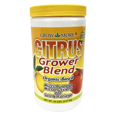 Grow More Citrus-Grower-Blend Multi-Purpose Micronutrient Mix 1.5 lbs