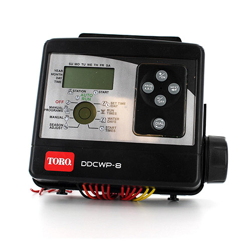 Toro DDCWP-8-9V Eight Station Battery Operated Controller