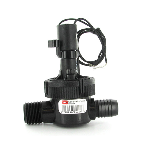"Toro EZF-25-04 - 1"" EZ-Flo Plus Male X Barb Valve with Flow Control"