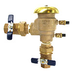 Febco U765 - 1 inch Pressure Vacuum Breaker with Union Ball Valve Ends