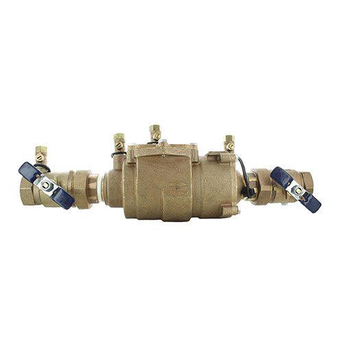 Febco FEU850-150 - 1-1/2 inch Double Check Assembly with Union Ball Valve Ends