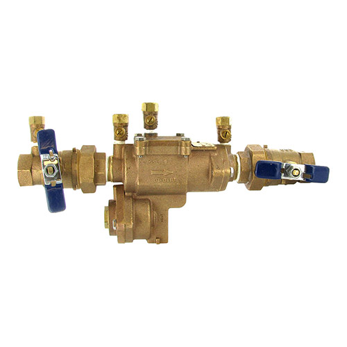 Febco FEU860-150 - 1-1/2 inch Reduced Pressure Assembly with Union Ball Valve Ends
