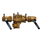 Febco FEU860-200 - 2 inch Reduced Pressure Assembly with Union Ball Valve Ends