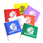 FLAGS-ASST-G 100 Assorted Colors Sprinkler System Marker Flags