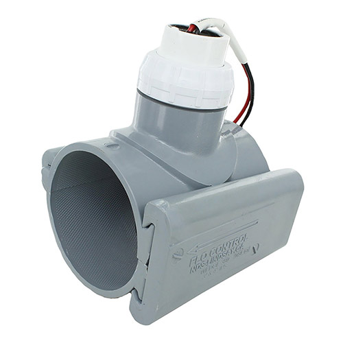 CST FSI-T30-001 Flow Sensor 2 Wire Output 3 inch PVC Saddle