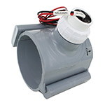 CST FSI-T40-001 Flow Sensor 2 Wire Output 4 inch PVC Saddle