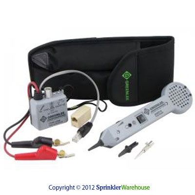 Greenlee G-701K-G-6A Pro. Tone Probe Tracing Kit w/ABN Test Clips