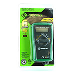 Greenlee G-DM-25 600V Digital Multimeter With Manual Ranging