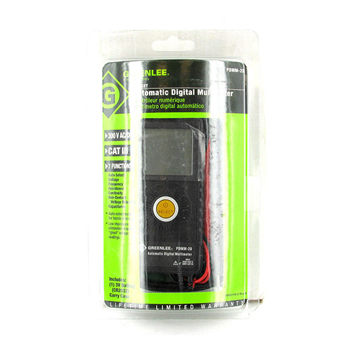 Greenlee G-PDMM-20 Pocket Multimeter