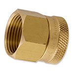 "HPF12 - Aqualine -  Brass 3/4"" female hose to 3/4"" female pipe swivel"
